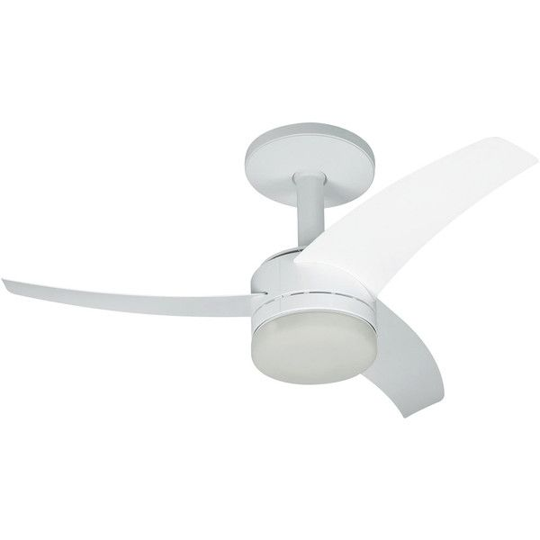 nice Ventilador de Teto Arno Ultimate Branco Silencioso e Econômico c / Controle Remoto