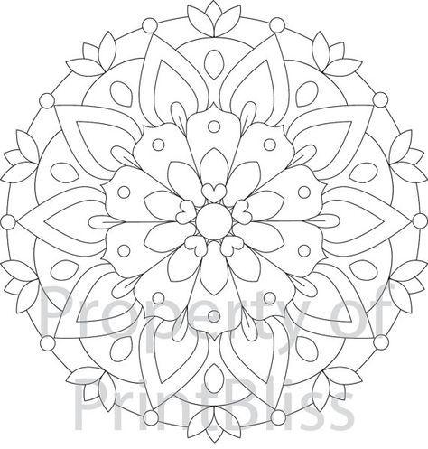 Estas son tus favoritos de la semana: Mandala de flor y Patroned de bordado a mano.