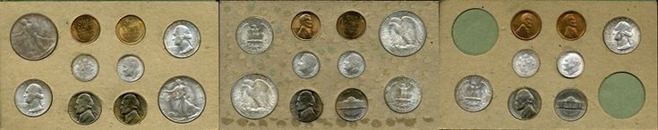 Informative site clearing up confusion regarding variation of mint sets issued over the years from 1947 to 1970.