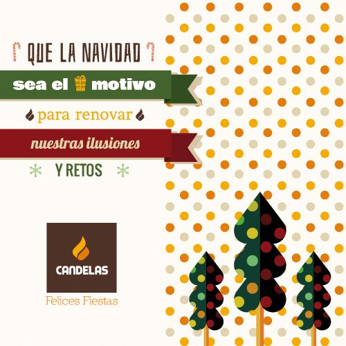 Que la Navidad sea el motivo para renovar nuestras ilusiones y retos.