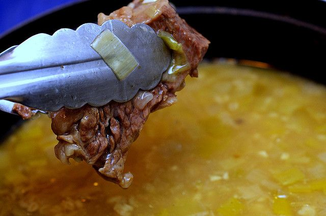 Easy Beef, Leek and Barley / put-in-what-you-want Soup, Smitten ...
