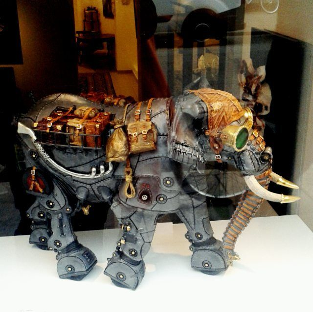 Steam punk elephant