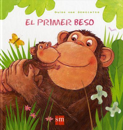 GENECHTEN, Guido van. El Primer beso.Madrid : SM, cop. 2014.  ISBN 9788467569193. I1 Gen. (A partir de 2 anys) Cuando Flamenco pregunta al resto de animales de la selva quién ha dado el primer beso, crea la confusión entre ellos. Algunos no saben qué es un beso. Además, cada uno tiene una manera diferente de demostrar el afecto, el cariño, la alegría: las cebras chocan sus culitos, los osos juntan los hocicos...  #LIJ #lectura #afecto #valores #animales http://www.canallector.com/