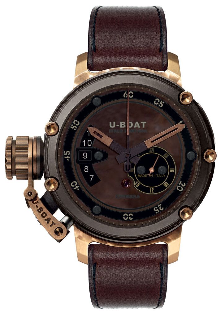 U-Boat watch brown design. Cost £€$ 4digits