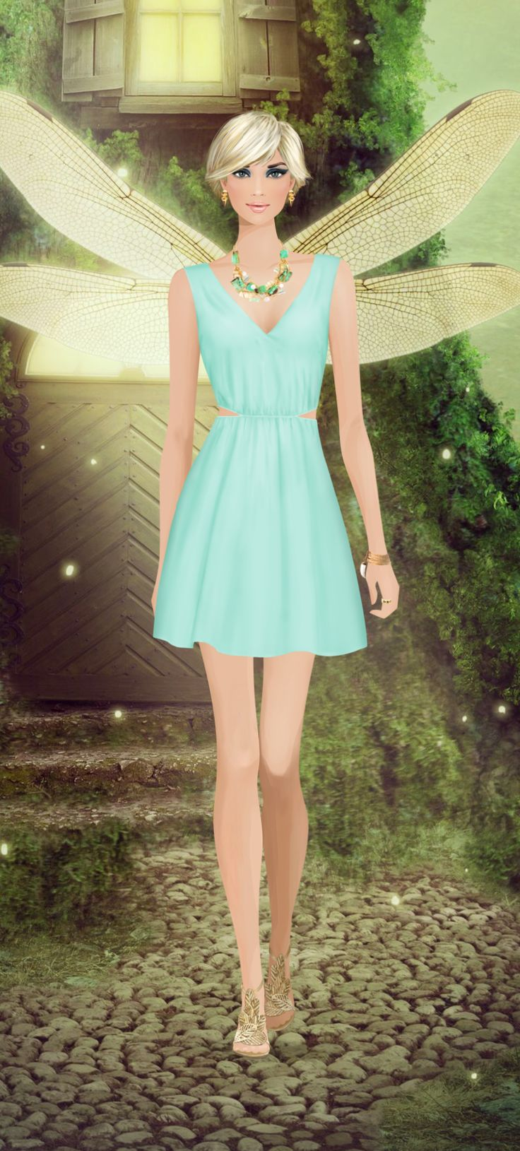 Tinkerbell Event On Covet Fashion Game Covet Fashion Game Pinterest Covet Fashion Fashion
