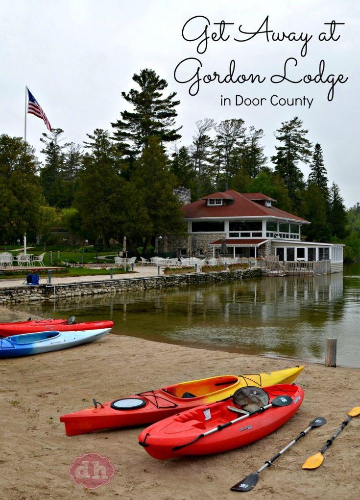 Get Away at Gordon Lodge in Door County