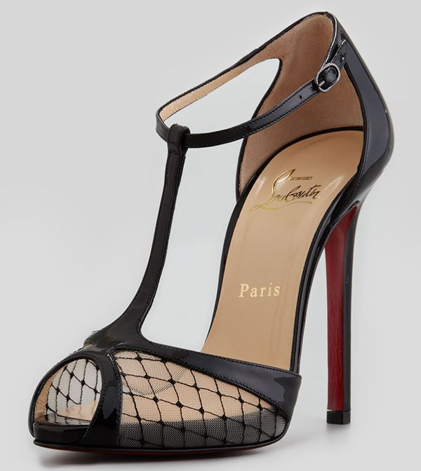 christian louboutin heels for women black cl shoes by chinese laundry