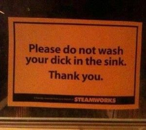 What all had to happen to get this sign made??? - http://lolsvillage.com/?p=10222