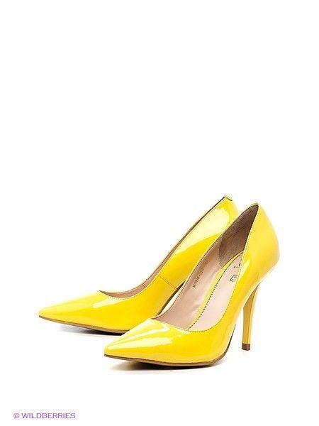 Туфли на каблуке Moda Donna кожа 3390 руб.