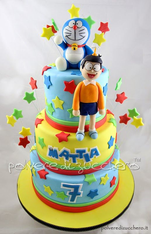 Doraemon Cake Design : torte di doraemon - Cerca con Google torte in pdz ...