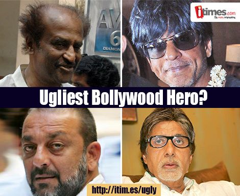 Tell us who among these do you think is the ugliest actor in #bollywood? Vote here