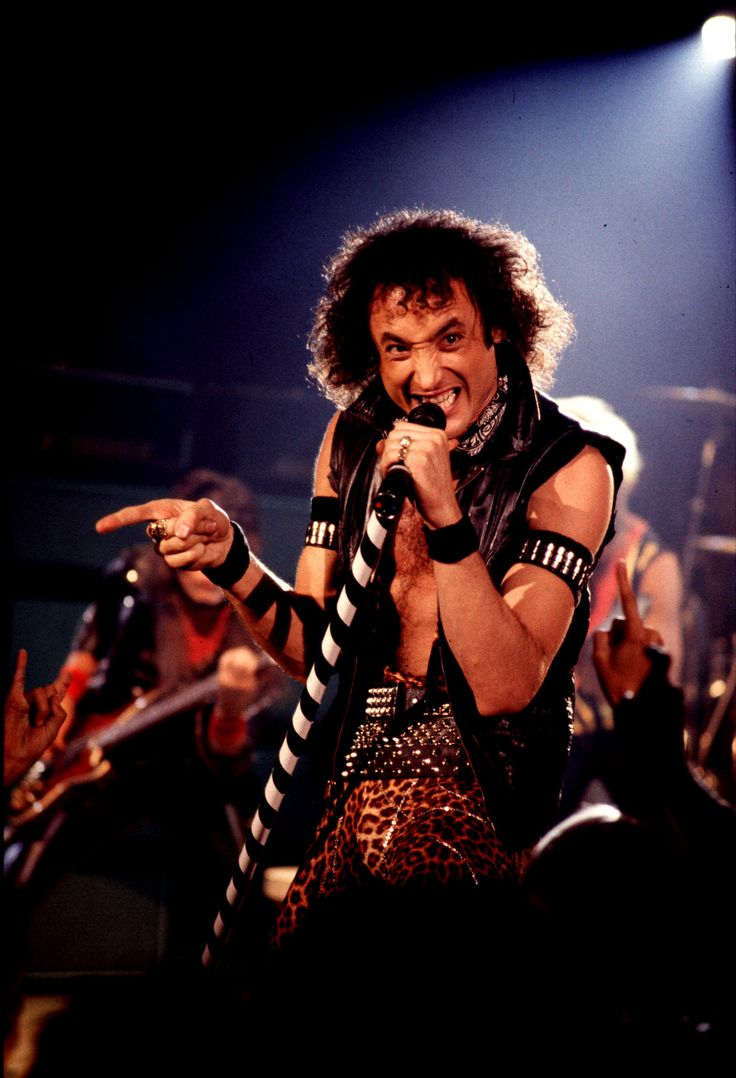 Kevin DuBrow of Quiet Riot, 1983