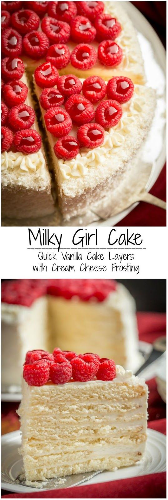 Milky Girl Cake | Food And Cake Recipes