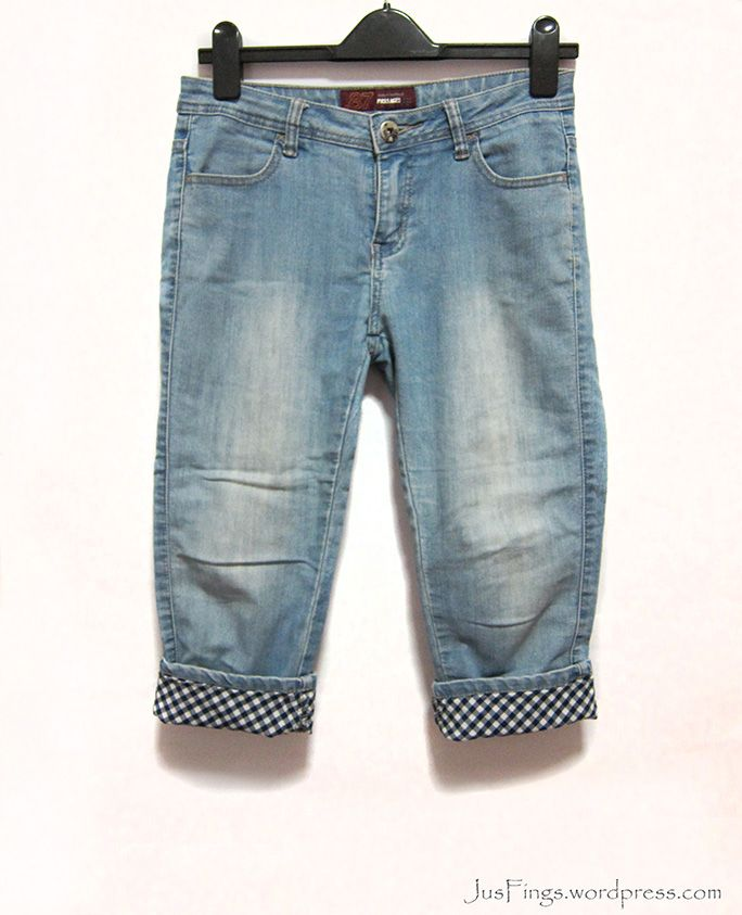 Roll-up Jeans $10  #prelovedsg #blogshopsg #sgblogshop #jusfings #jeans
