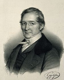 Joseph Louis Gay-Lussac (Sain-Léonard-de-Noblat, 1778) was a French chemist and physicist. He is known mostly for his two laws relating pressure, temperature and volume of gases. He codiscovered with Humboldt the chemical composition of water.
