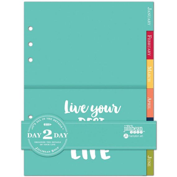 Jillibean Soup Day 2 Day Collection Daily Planner Planner