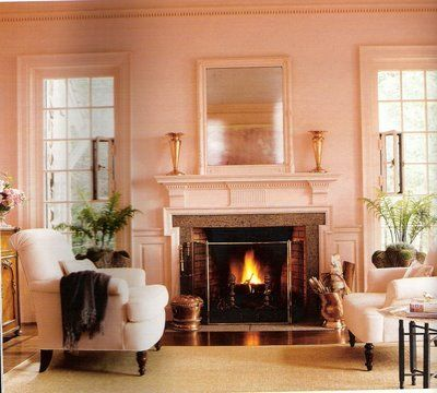 Martha stewarts pink house color scheme for my dream bathroom