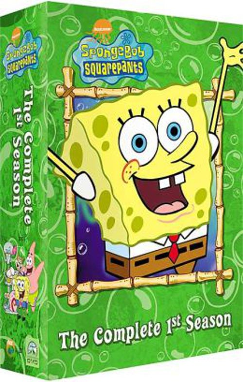 SOLD!!! SpongeBob SquarePants: The Complete 1st Season (3 Disc) (DVD)
