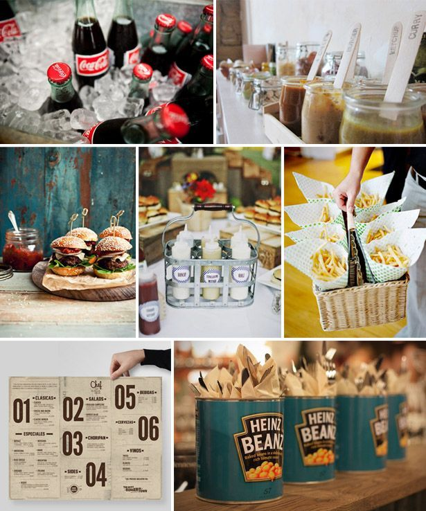 Wedding philippines 21 gourmet burger bar buffet ideas for 788 food bar argentina