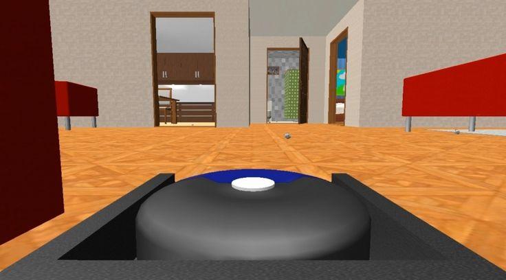 Roboot Vacuum Simulator 2013 1024x569 Robot Vacuum Simulator 2013 : la perle des jeux de simulation