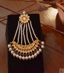 Buy Gorgeous Kundan Passa hair-accessory online