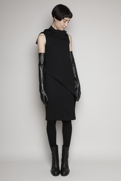 dress and cloves, Ann Demeulemeester    I would wear this everyday if I could.