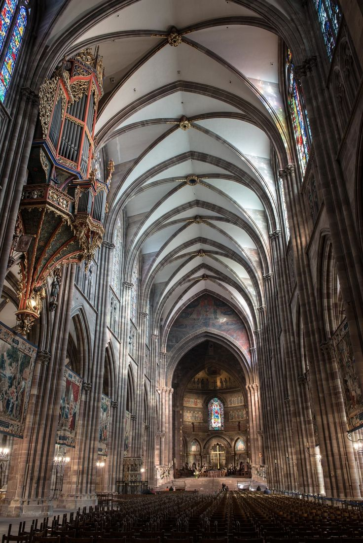 STRASBOURG CATHEDRAL by Tom Bartel. Photo essay on the fantastic church