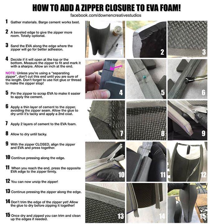 TUTORIAL | Cómo añadir una cremallera a gomaeva.