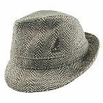 The Herringbone Gaffer, a wool walking hat by Kangol, pleased customer Richard K. very much--as did the on-time delivery! Item 6449BC.