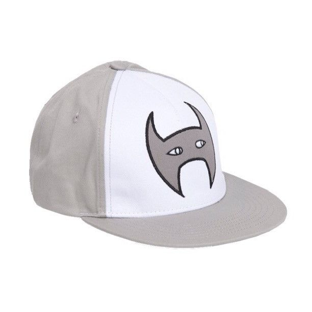 Grey and White Mask Cap by Harlow Clothing available now at www.blakeandleo.co.nz