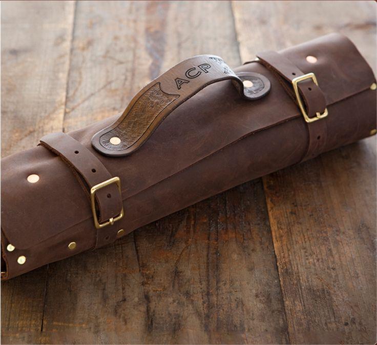 leather knife roll my. Black Bedroom Furniture Sets. Home Design Ideas