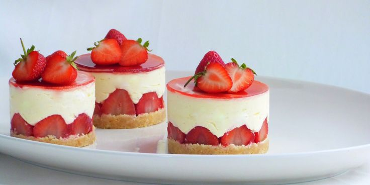 These beautiful strawberry and elderflower fraisiers from Rukmini Iyer are as delicious as they are pretty - perfect for summer dinner parties or picnics.