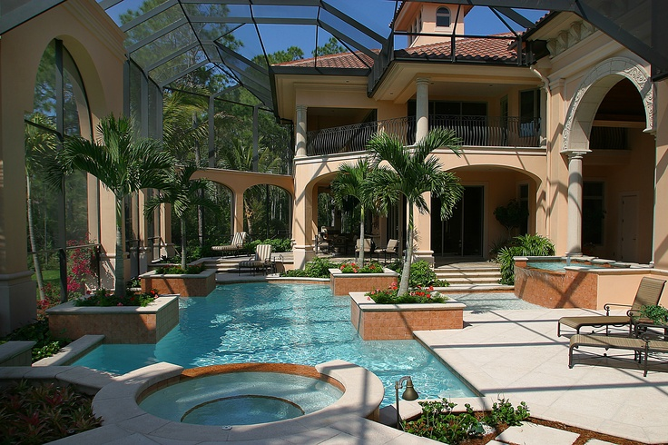 17 best images about custom luxury home designs the for Pool design book