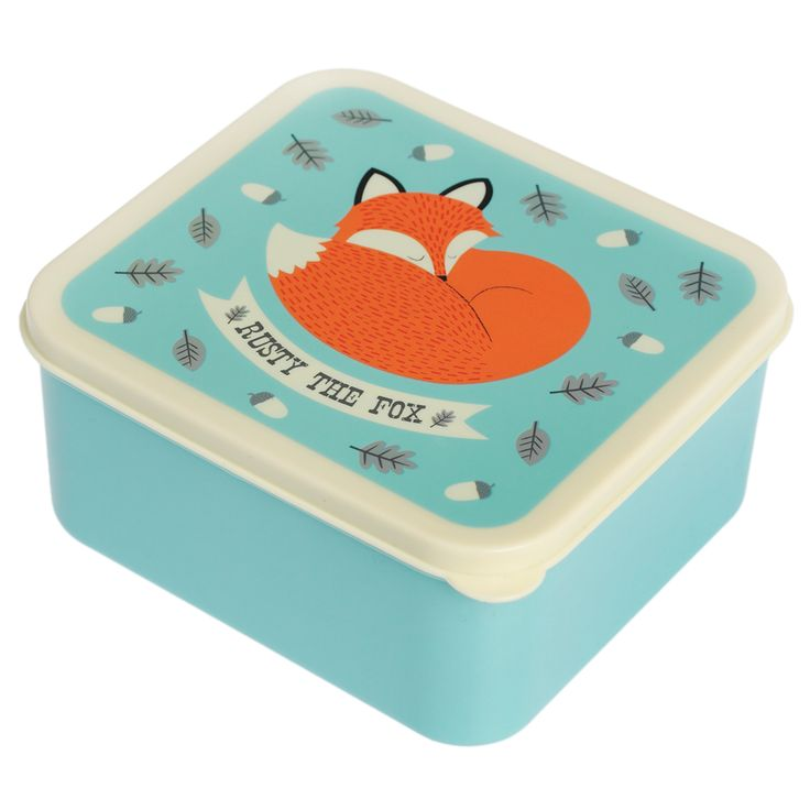 Lunch Box Rusty The Fox | DotComGiftShop