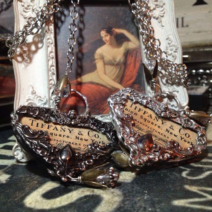 Tiffany&Go ArtNovueau Solder Glass