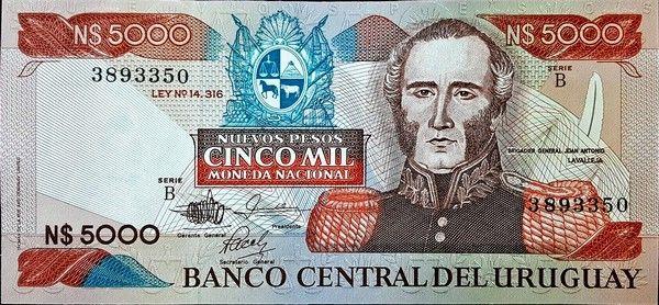 Uruguay Uruguay Uruguay Capital Bank Notes