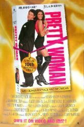 Pretty Woman 10th Anniversary Edition Movie Poster 27x40 Used Tracy Reiner, Valorie Armstrong, Jackie O'Brien, James Patrick Stuart, Frank Campanella, Rodney Kageyama, Ralph Bellamy, Alex Hyde-White, Julia Roberts, Larry Hankin