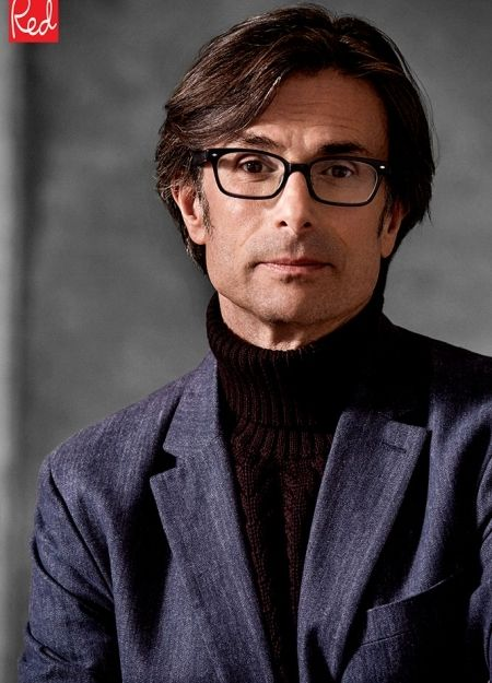 EXCLUSIVE: Robert Peston on grief & why he feels 'bloody lucky' again