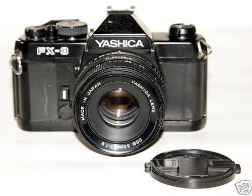 """mein """"werkzeug""""  ~~  my """"tool"""" YASHICA  FX3"""