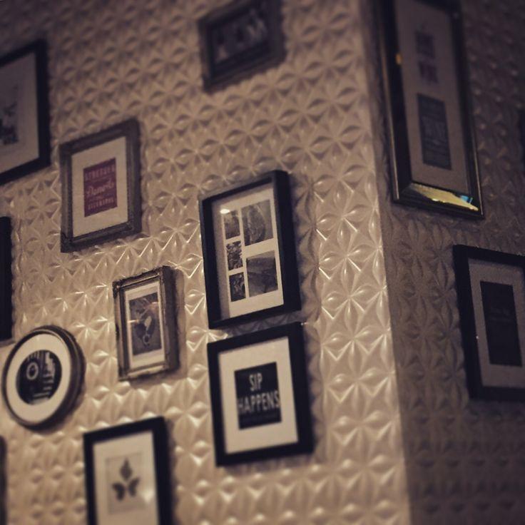 Walls have frames and frames have memories.