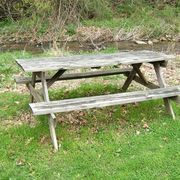 How to Make a Cheap Picnic Table   eHow