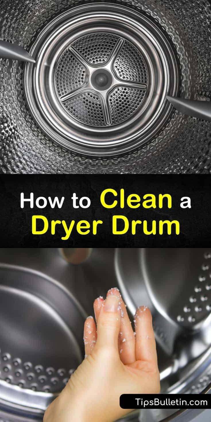 4 Smart Ways To Clean A Dryer Drum Organic Cleaning Products Cleaning Clothes Household Cleaning Tips