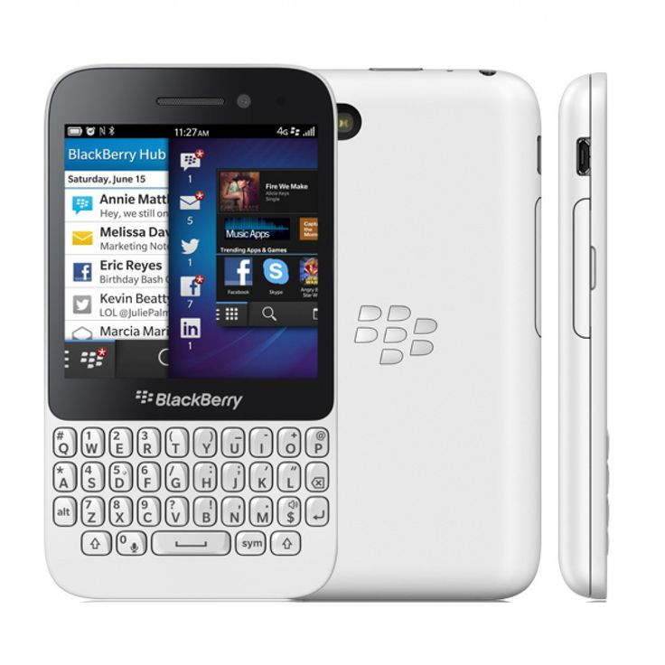 Blackberry q5 white 8gb 4g phone phone blackberry