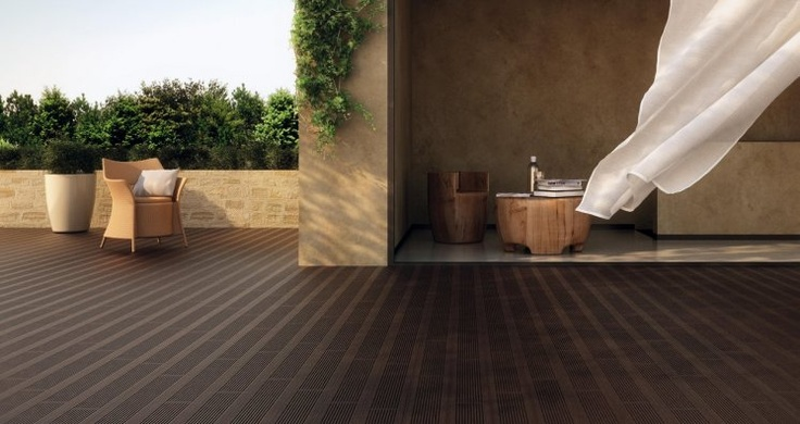 Marca Corona Externo Wood Effect Tiles For Outdoor