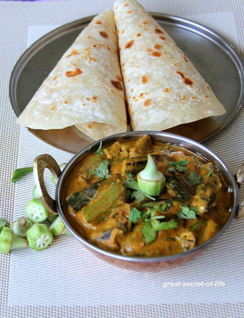 Okra Masala - Ladies finger Masala - Bhindi masala - Creamy side for fried rice, roti, fried rice or Naan - No garlic and ginger recipe