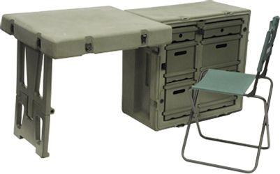 Pelican Cases | Deployable Field Desk | 472-FLD2-DESK-TA