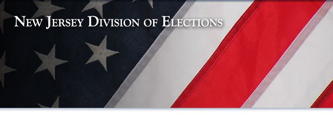 New Jersey Division of Elections homepage banner