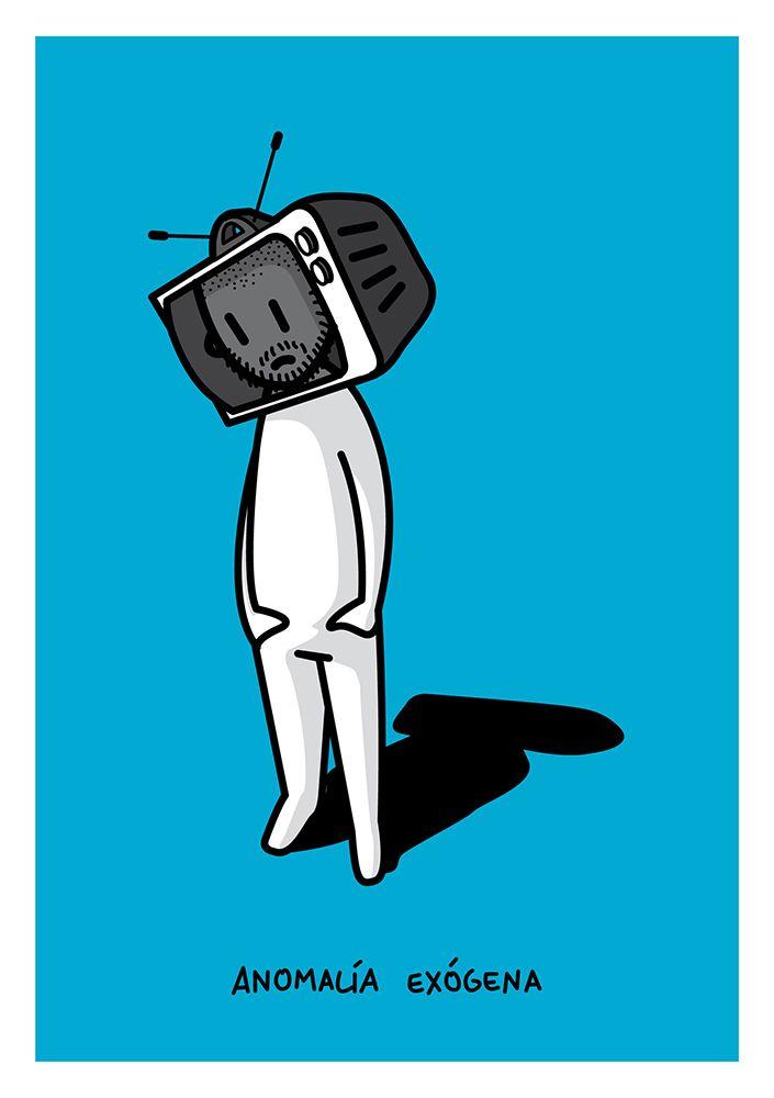 Anomalía #illustration #fanzine #junkiepython #collaboration #draw #tv #anomalia #digitalart #artwork