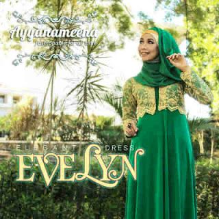 Bahan Evelyn by Ayyanamenna: Korean ITY jersey mix glitteri brokade. Balero brukat menyatu dengan dress Pilihan Warna: yellow-green, red-black, pink-grey, green-yelow