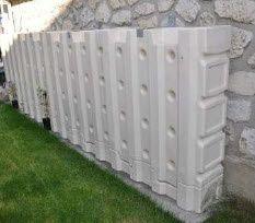 Stockage aérien modulaire d'eau de pluie, Modèle Mur d'eau de ESCB modulaire. Voir en détail et demandez un devis.